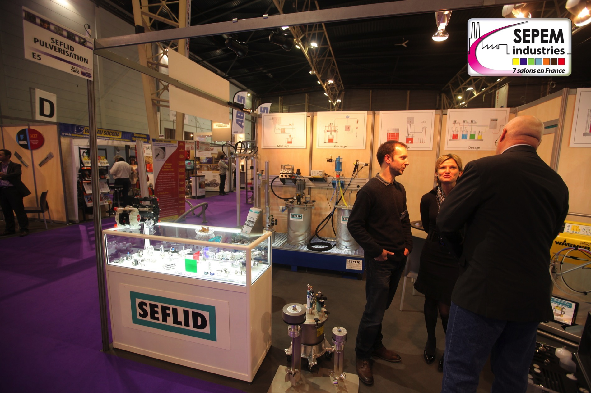 Salon sepem douai 2015 seflid for Salon sepem
